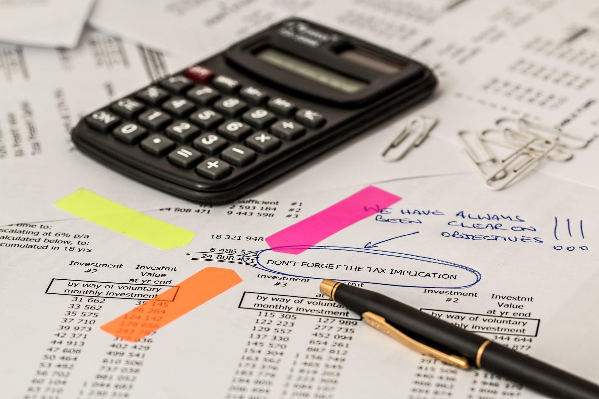 חישוב של מס