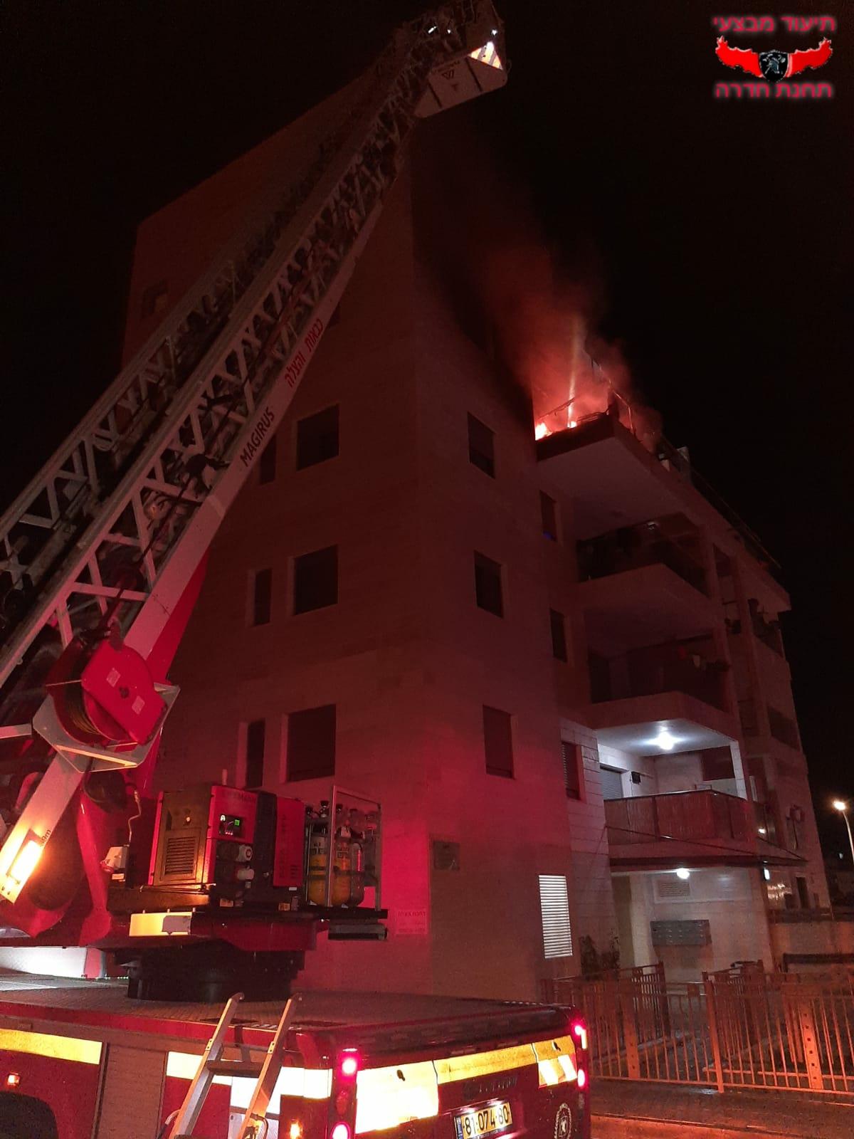 הדירה שעולה באש