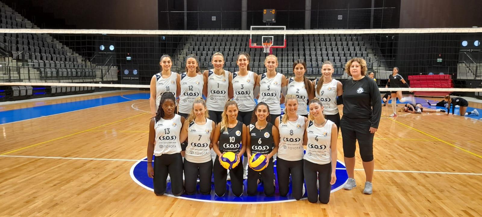 קבוצת כדורעף נשים חדרה