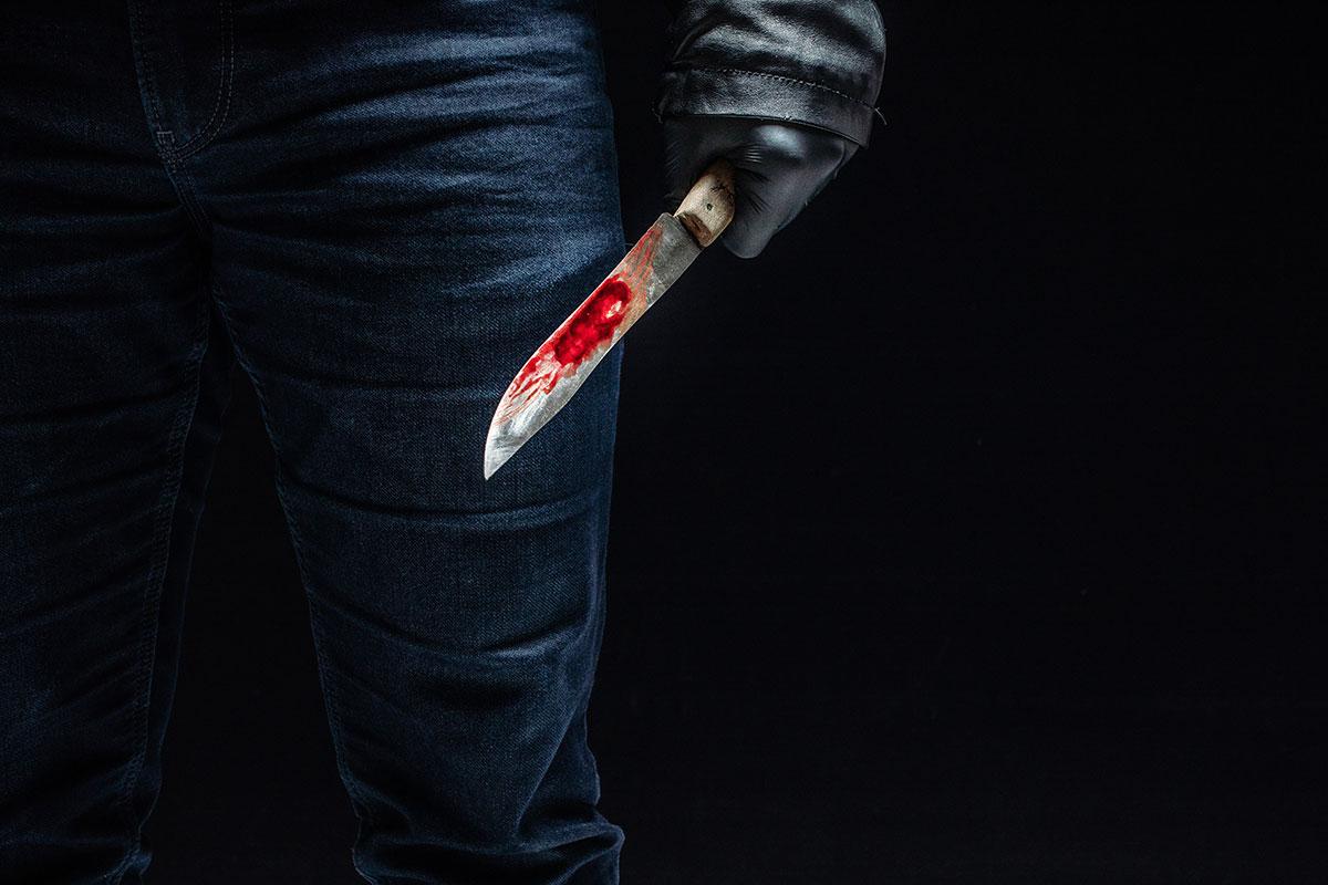 אילוסטרציה דקירת סכין