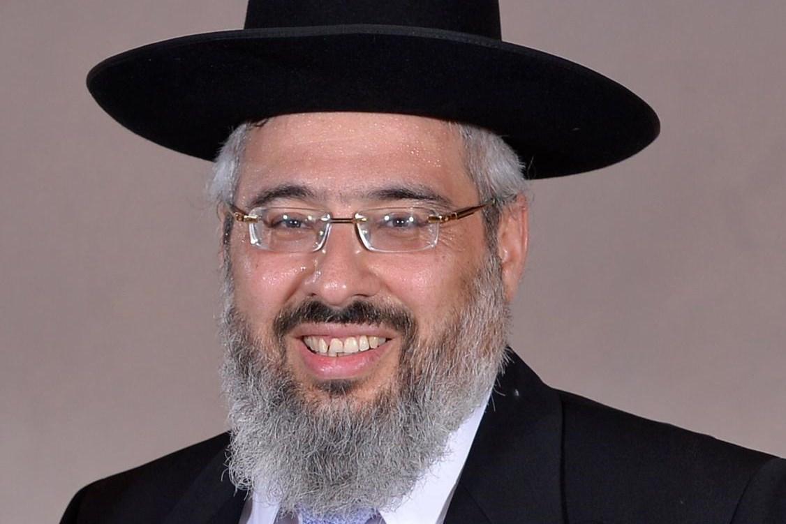 הרב ישראל מאיר ביטון - רב העיר חדרה