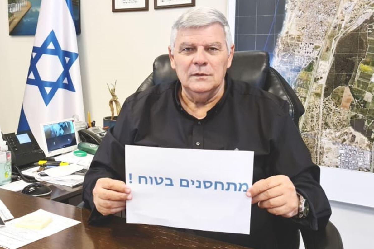 ראש עיריית חדרה קורא לציבור להתחסן נגד קורונה