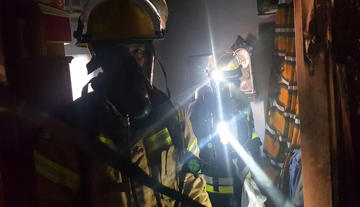 שריפה בדירה בגבעת אולגה