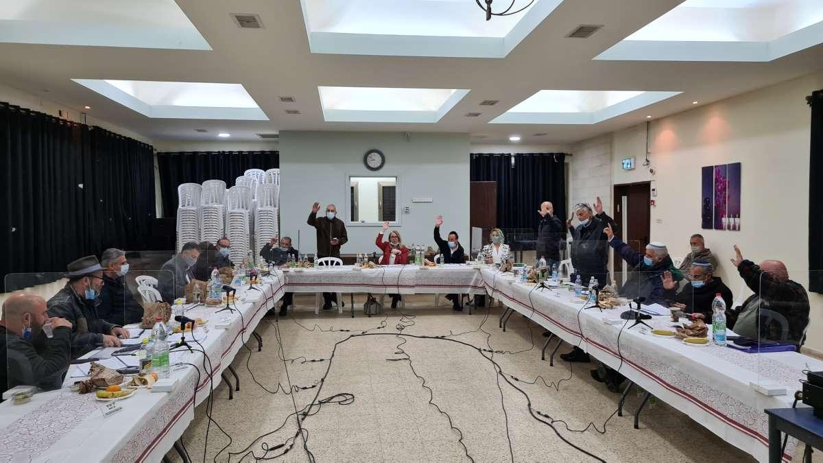 ישיבת תקציב מועצת פרדס חנה כרכור