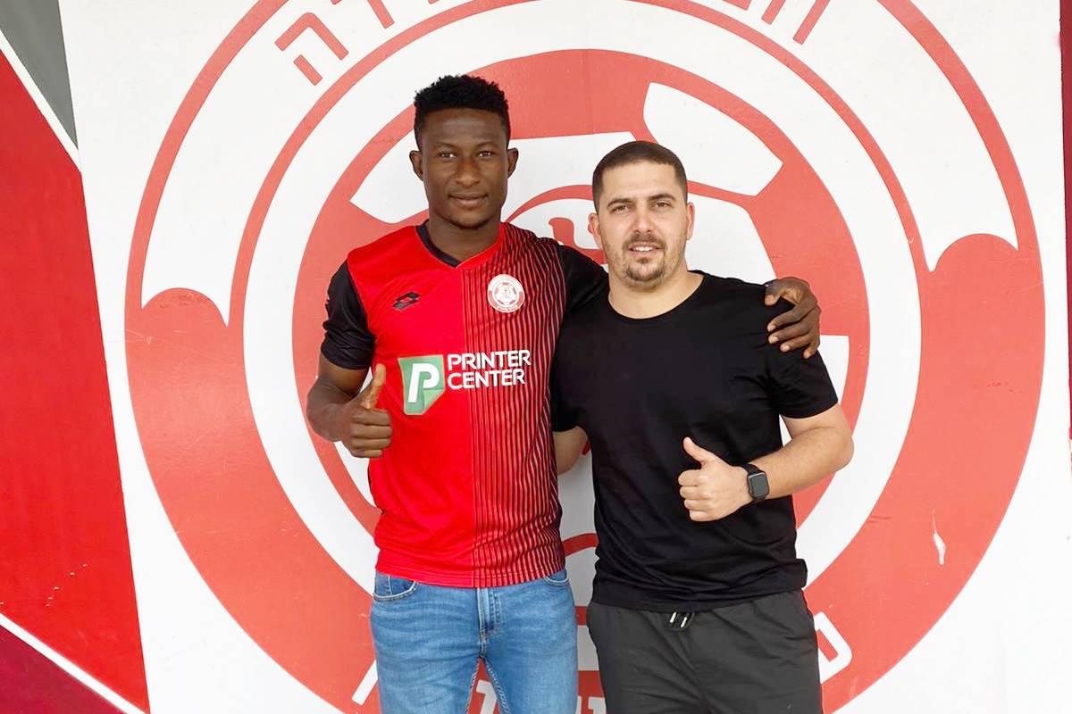 מוחמד אוסמן חתם בקבוצת הפועל חדרה