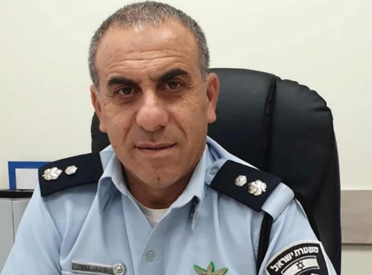 מיכה גפני מפקד תחנת משטרת חדרה