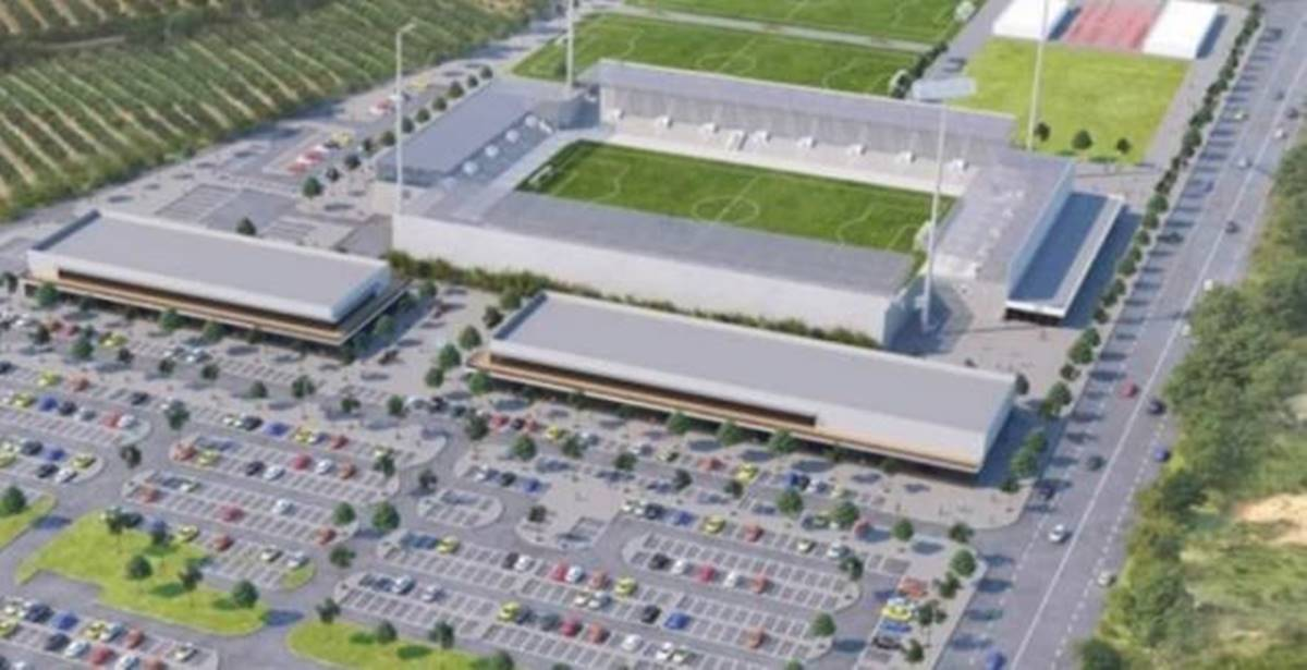 הדמיית אצטדיון כדורגל עירוני חדרה