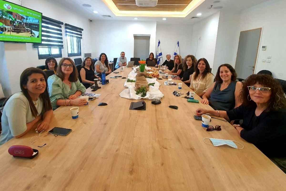 עיריית חריש מארחת מנהלות מחלקות לגיל הרך מהרשויות הרצליה, רמת גן וכן מועצה אזורית לב השרון