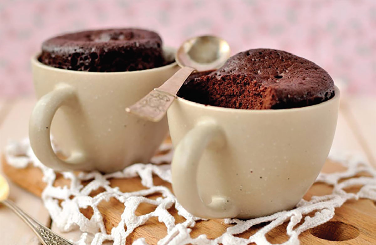 עוגת שוקולד אישית בכוס