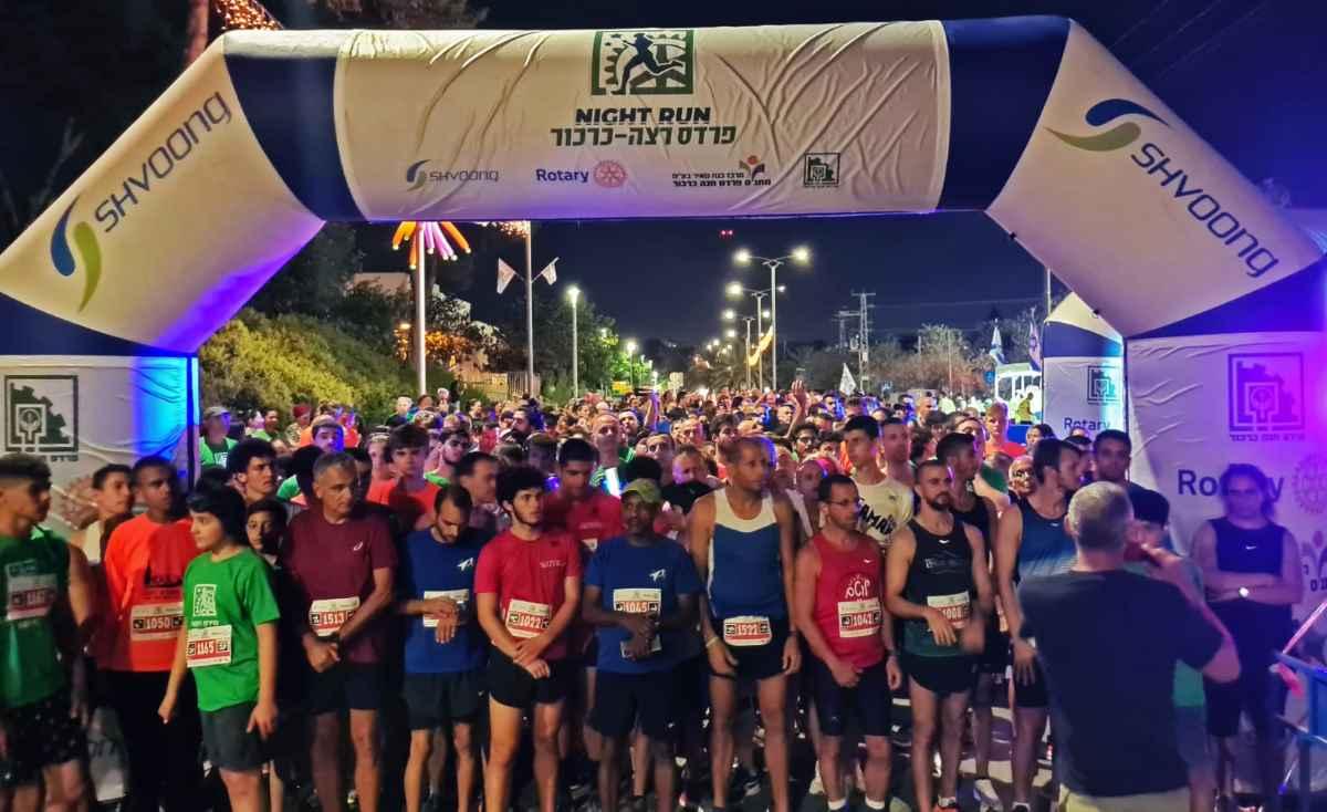 מירוץ פרדס חנה - כרכור - אלפי משתתפים