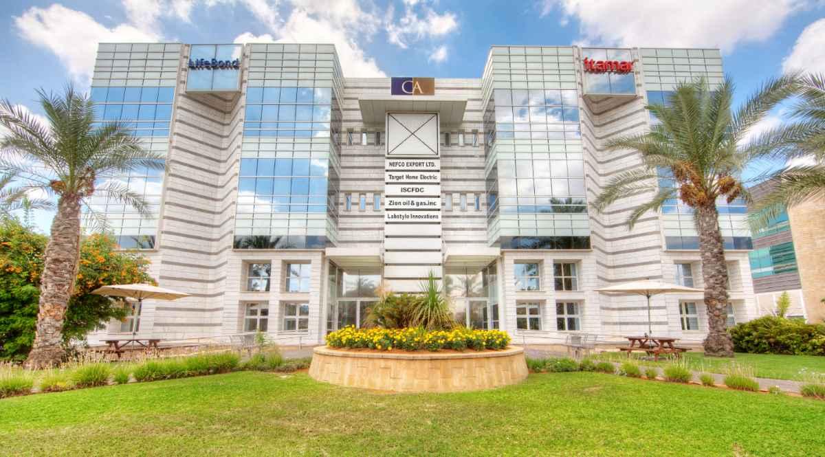מבנה אופק 4 פארק העסקים החכם קיסריה - בו תקים איתמר מדיקל את מטה ההנהלה. צילום נועם חן.
