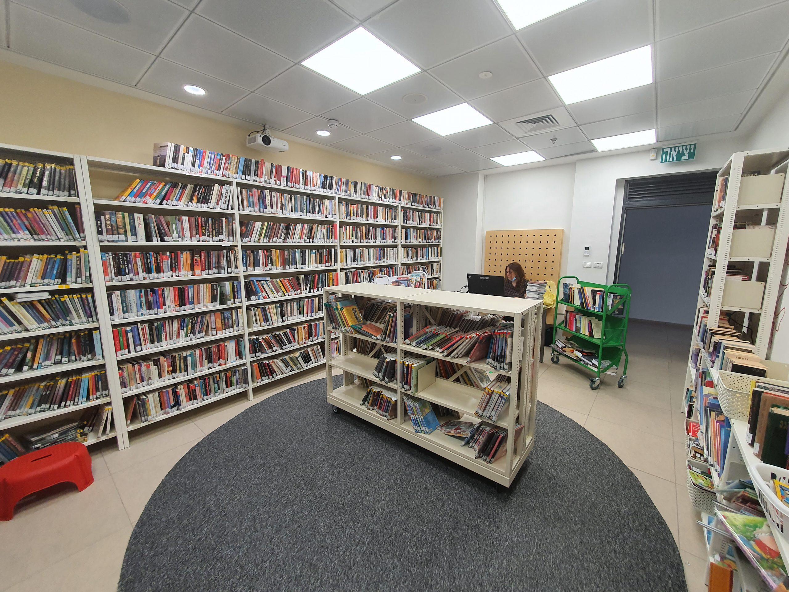 הספרייה העירונית חריש. צילום עיריית חריש