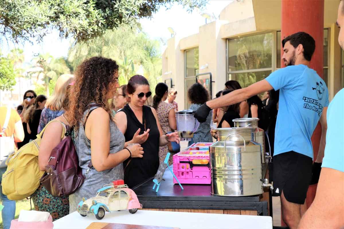 האירוע, שהיה אמור להתקיים בחודש מרץ, נדחה בשל מזג האוויר. השבוע הוא התקיים בהשתתפות מעל 100 נשים.