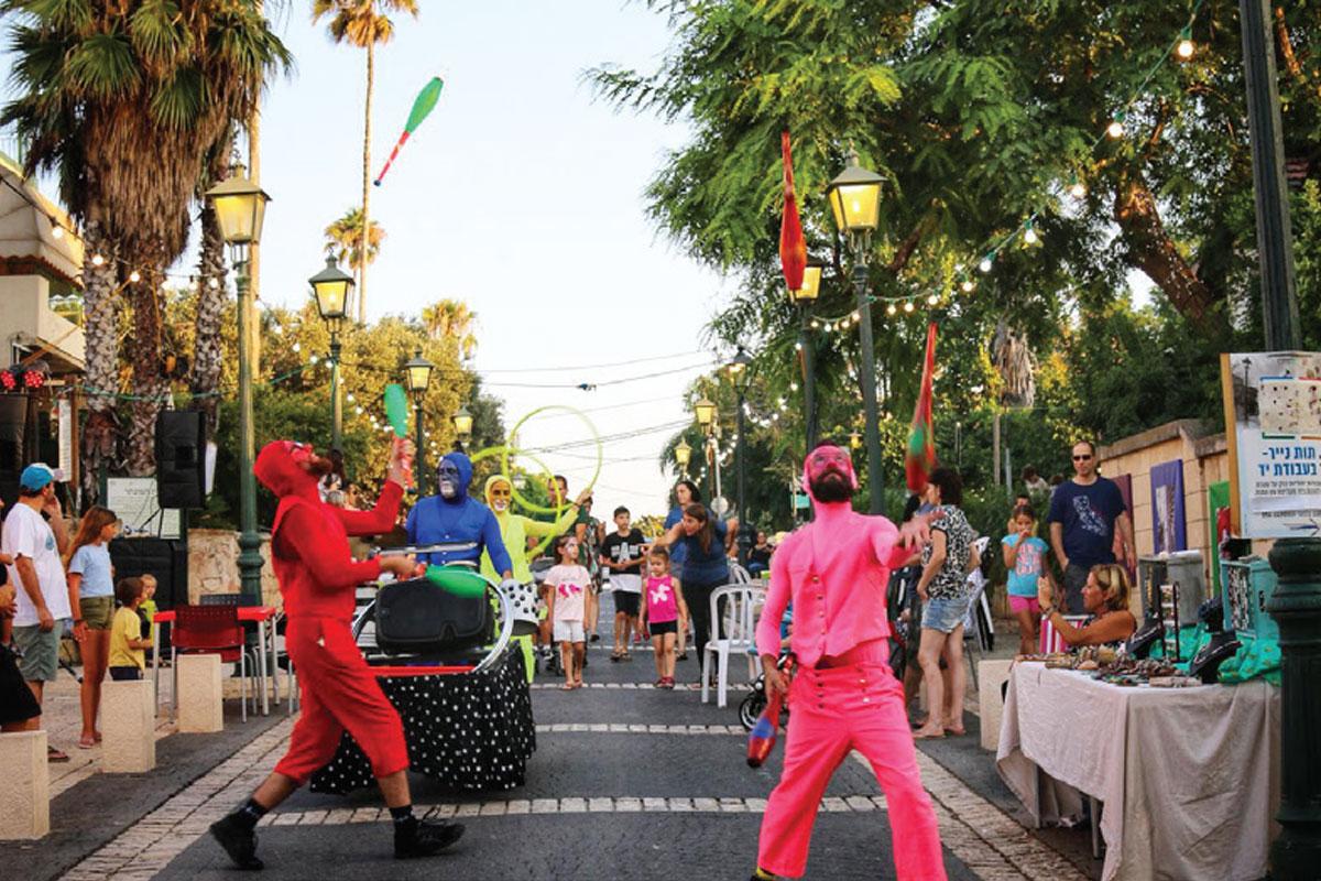 פסטיבל רחוב בזיכרון יעקב