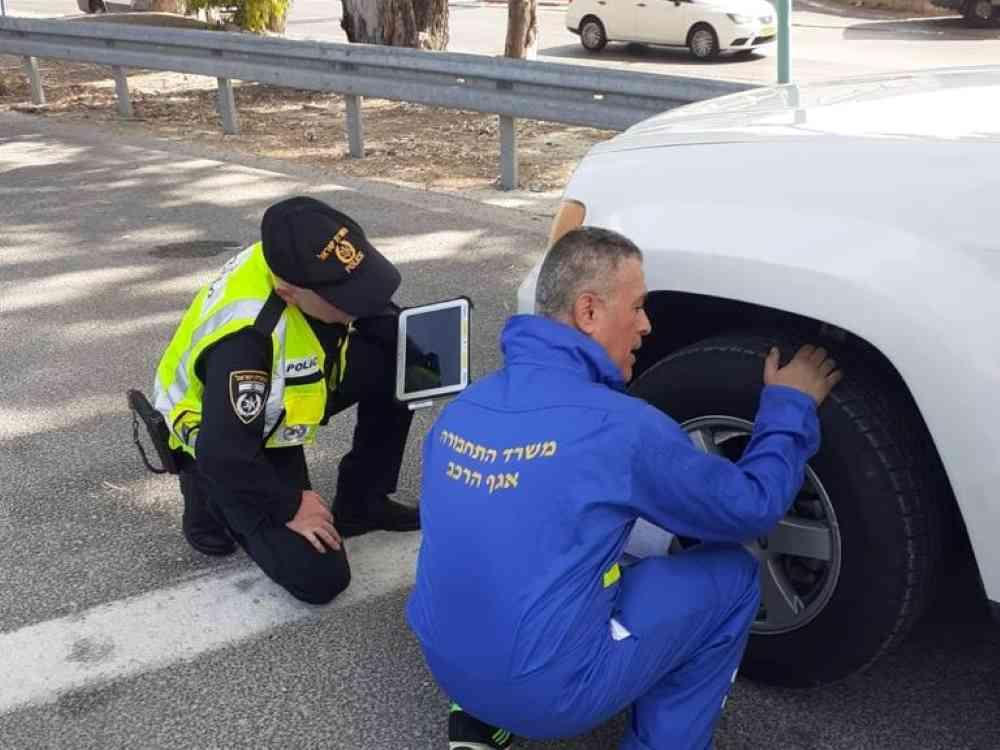 בפעילות של משטרת ישראל נבדקו למעלה מ-100 כלי רכב. במבצע הבזק השתתפו שוטרי התנועה של משטרת חדרה ואנשי משרד התחבורה