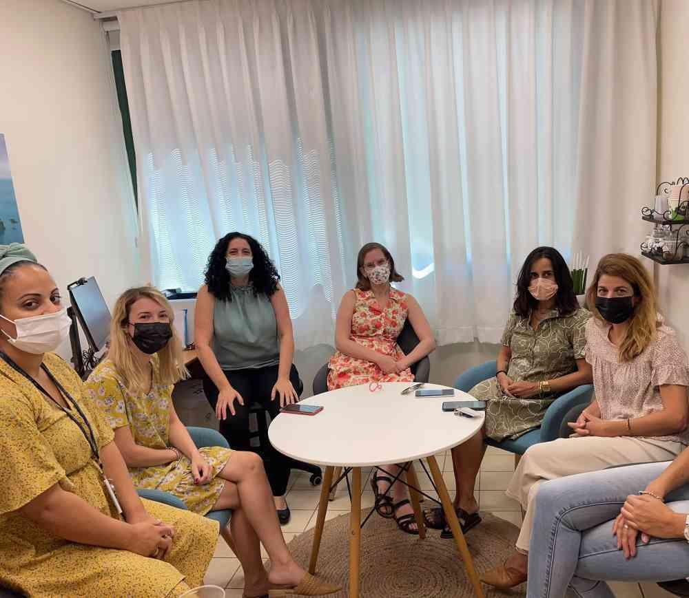 יעל שרר, מנהלת הלובי למלחמה באלימות מינית, ביקרה בחדר הייעודי לנפגעי ונפגעות תקיפה מינית במרכז הרפואי הלל יפה